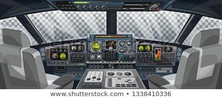 Stock photo: Technology Airplane Instrument Panel