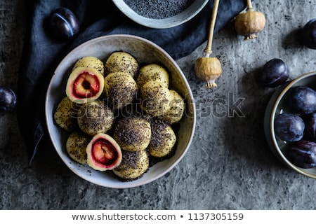 plum dumplings stock photo © foka