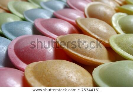 Ufo şeker tatlı farklı renkler Stok fotoğraf © Melvin07