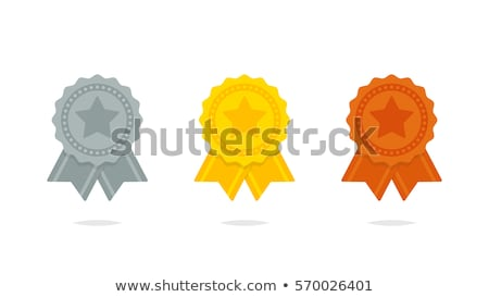 Set of seals with ribbon Stock photo © ElaK