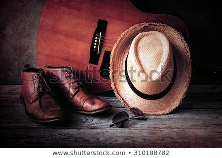 öreg · luxus · csendélet · piros · sötét · sarok - stock fotó © zakaz