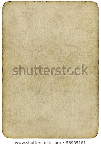 velho · cartão · manchado · fundo · espaço - foto stock © latent