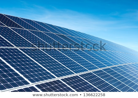 Solar panel against blue sky  Stock photo © yoshiyayo