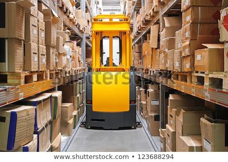 Stock fotó: High Rack Stacker