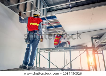 Painting office ceiling Stock photo © photography33