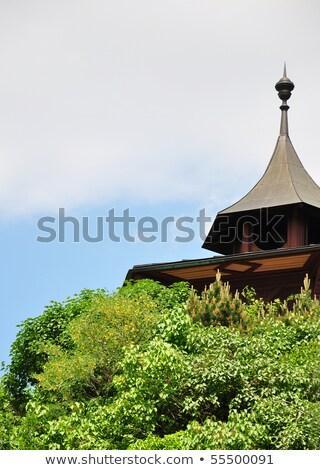 Chinese pavillon at castle hill in Graz, Austria Stock photo © rbiedermann