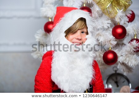 Children dressed up in Santa Claus costumes Stock photo © photography33