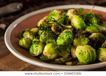 Cocido Bruselas almuerzo crema comida dieta Foto stock © M-studio