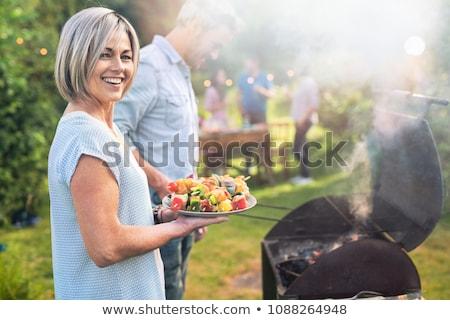 a nice couple gardening stock photo © photography33