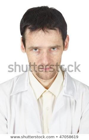 Not a good gaze of a young doctor Stock photo © pzaxe