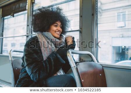 woman driving tramway Stock photo © photography33