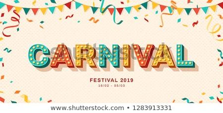 carnival Stock photo © dolgachov