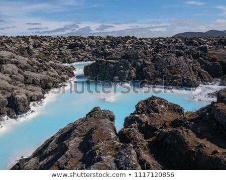 blue lagoon near reykjavik iceland Stock photo © travelphotography
