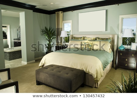 bedroom stock images interior design stock photo © cr8tivguy