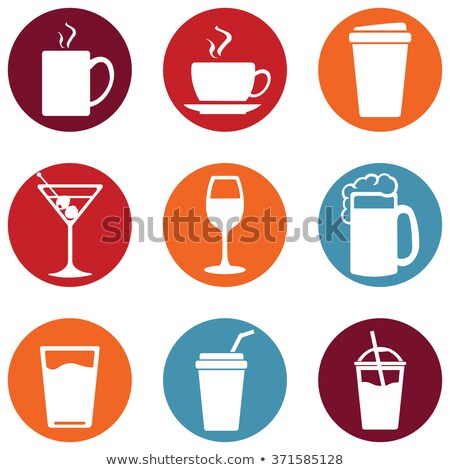 Food icons basics series vector stock photo © mistervectors