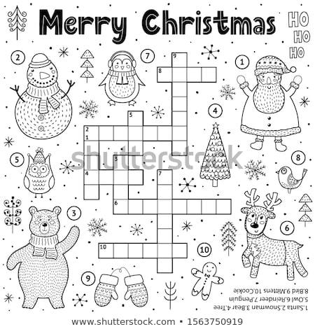 crossword stock photo © procy