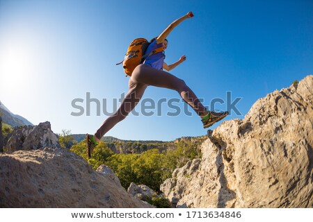 Female hiker in the wilderness Stock photo © photography33