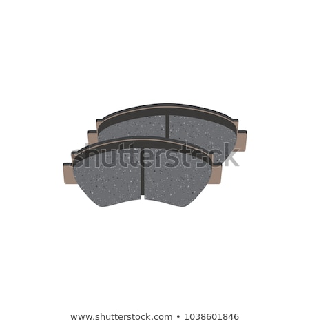 A Set of Disc Brake Pads Isolated Stock photo © RuslanOmega