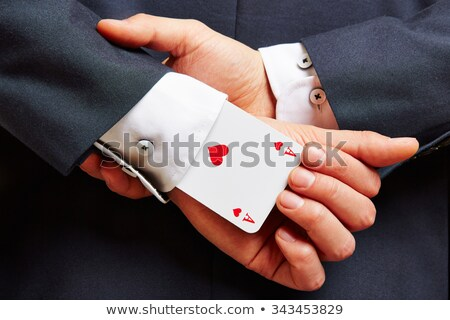 ace sleeve fraud and cheating Stock photo © tlorna