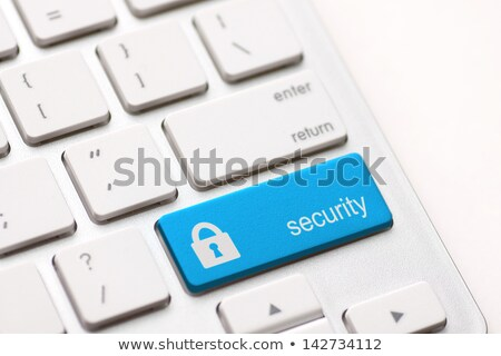 security button key Stock photo © REDPIXEL