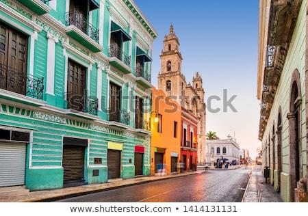 улице регион Испания город население римской Сток-фото © fxegs