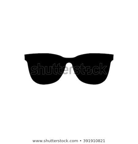 Photo stock: Vecteur · icône · lunettes · de · soleil