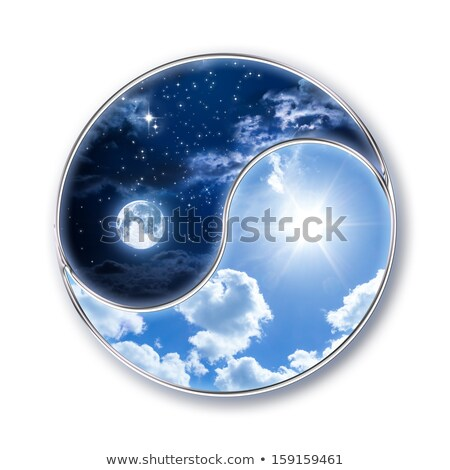 Yin & Yang - Day & Night Stock photo © icefront