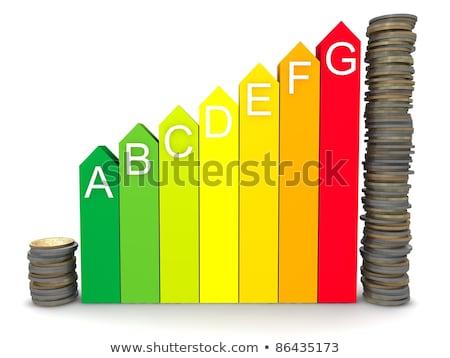 saving money due to energy efficiency Stock photo © neirfy