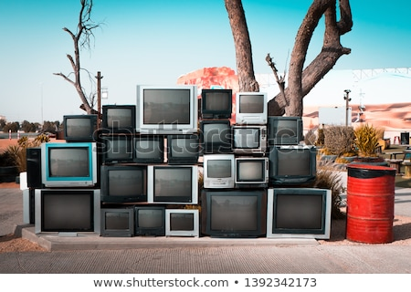 ecological recycling of monitors and televisions Stock photo © pxhidalgo