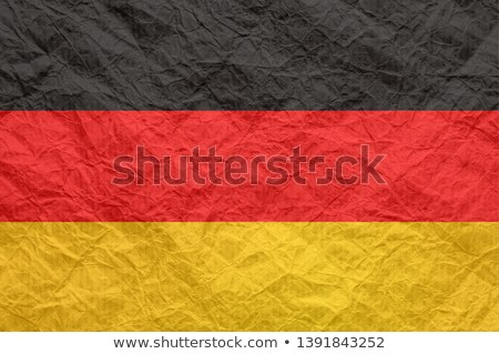 Germany flag on Crumpled paper texture Stock photo © stevanovicigor