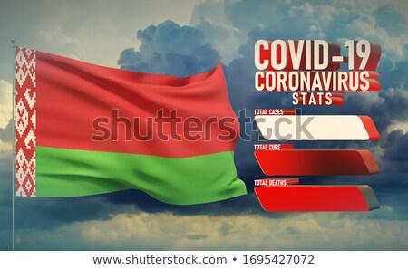 Belarus 3d flag. Stock photo © boroda