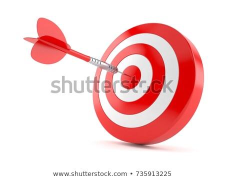 3D · objetivo · siete · esferas · negocios · deporte - foto stock © silense