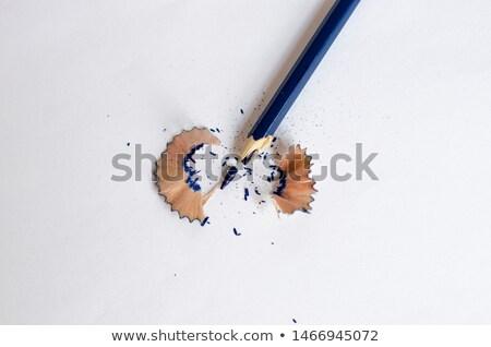 карандашом · сломанной · фото · Дать - Сток-фото © junpinzon