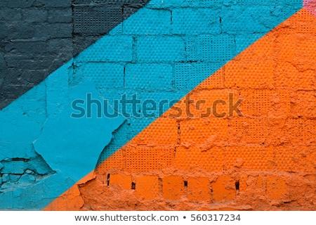 Сток-фото: старые · граффити · стены · городского · street · art · фон