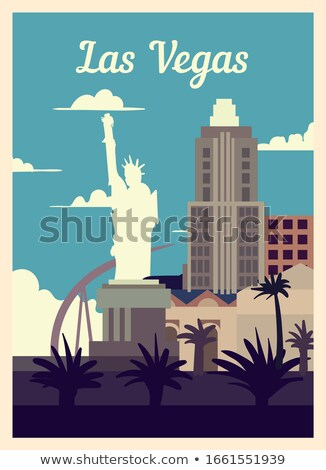 Lady Liberty statue in Las Vegas, Nevada  Stock photo © meinzahn