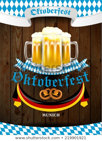 Oktoberfest celebration background Stock photo © vectomart
