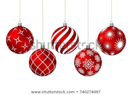 Navidad · invierno · vector · botones · establecer - foto stock © limbi007