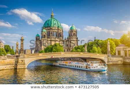 Berlin katedral görmek parlak kış gün Stok fotoğraf © joyr