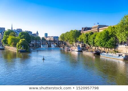 Parijzenaar rivier foto Frankrijk Stockfoto © Dermot68