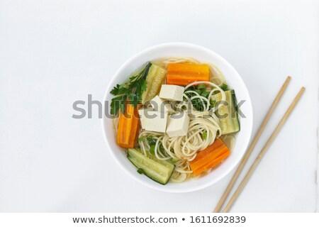 Китай продовольствие Тофу овощей четыре Сток-фото © wxin