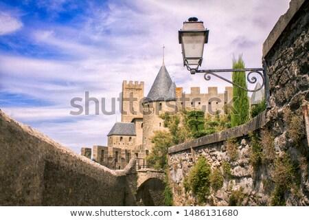 декораций красивой старые замок южный Франция Сток-фото © H2O