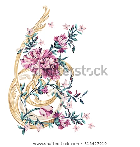 Ornamental display of colorful flowers Stock photo © ozgur