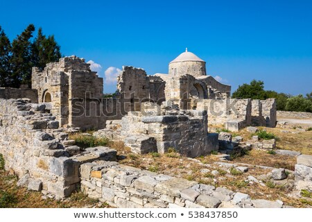 Medieval Monastery of Timiou Stavrou. Limassol District. Cyprus Stock photo © Kirill_M