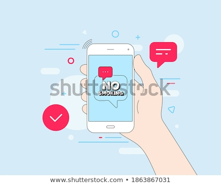 stop tick on open hand stock photo © tashatuvango