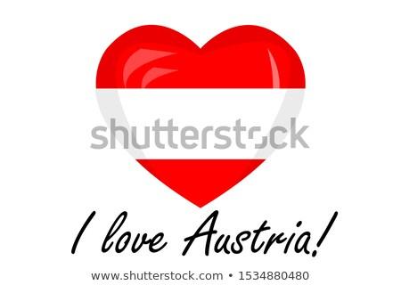 Austria flag on shirt Stock photo © fuzzbones0