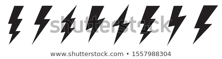 vector thunderbolt stock photo © morphart