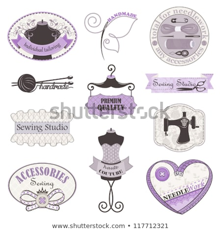 sewing studio emblem stock photo © netkov1