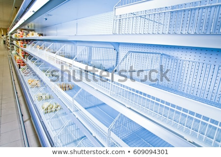 Counter with trading equipment in empty shop Stock photo © Paha_L