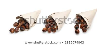 hámozott · pörkölt · gyümölcs · karácsony · diók · közelkép - stock fotó © ozgur