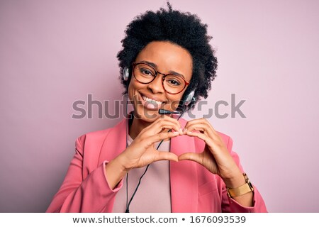 Stock photo: heart calling
